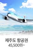 제주도 항공권 45,500원~