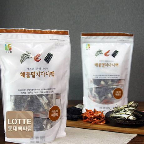 [롯데] 해물멸치다시팩160gX2봉