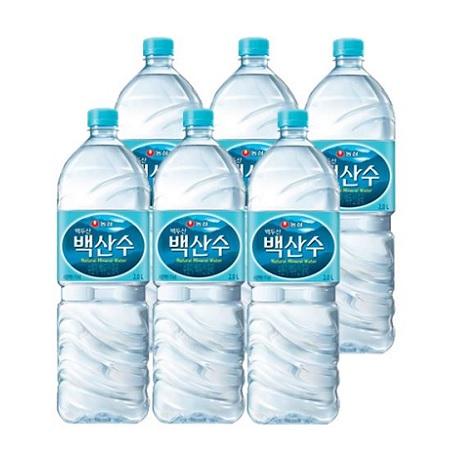[무료배송] 백산수 생수 2L X 6펫
