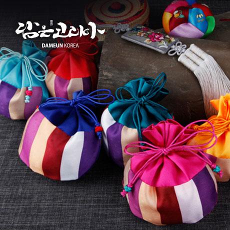 [신년쿠폰] 복주머니 누비지갑 도장