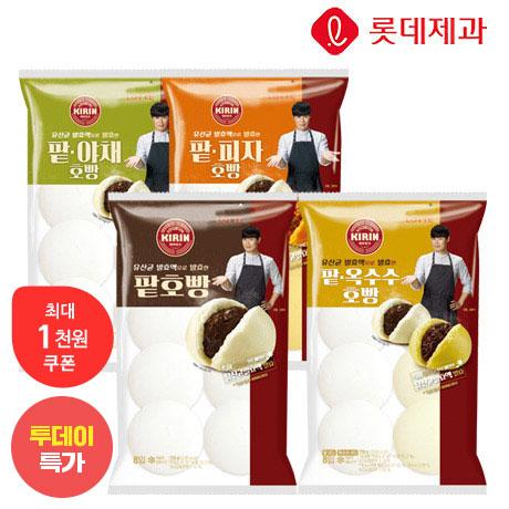 [투데이특가] 기린 팥 호빵 8입 2봉