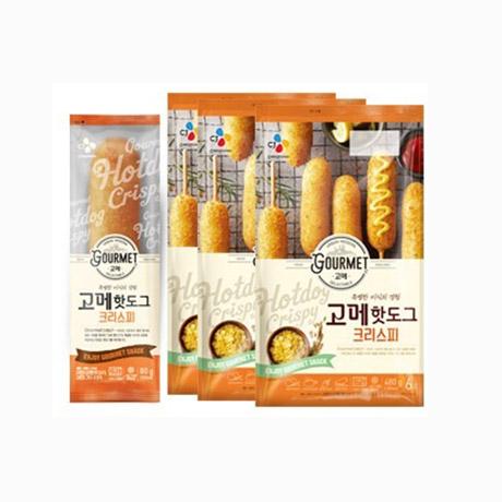 CJ 고메 크리스피 핫도그18개
