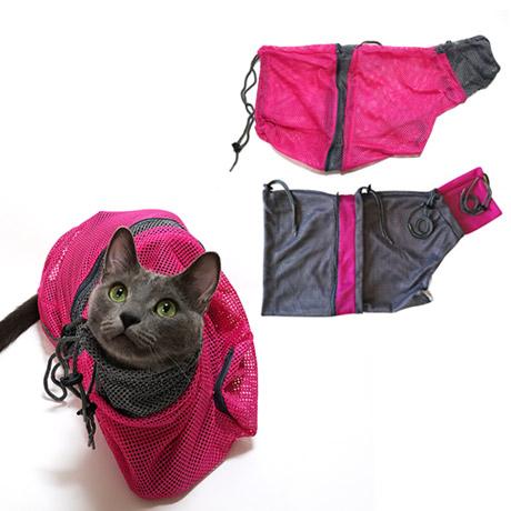 [애묘용품] 고양이 샤워망 목욕망