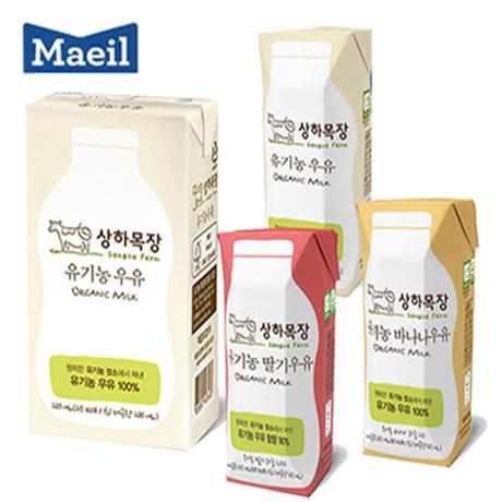 [매일추천] 상하목장 유기농멸균우유