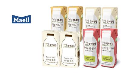 [원더배송] 상하목장 우유 24팩