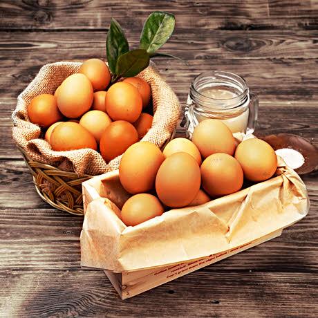 구운 맥반석 계란 30알 + 구운소금!
