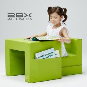 [마이컬러] 그린 유아책상소파