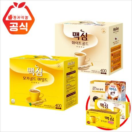 [무료배송] 맥심 모카/화이트 400T