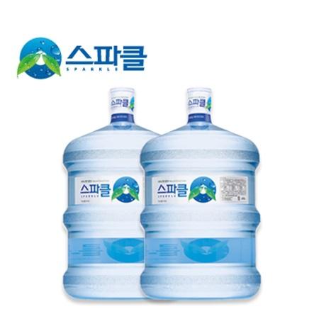 스파클 생수 18.9L 2통 (빈통회수)