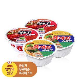 [명예의전당] 육개장/김치사발면12입