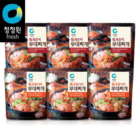 청정원 햄묵은지부대찌개 320gx4봉