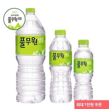[무료배송] 풀무원샘물 생수 2Lx12外