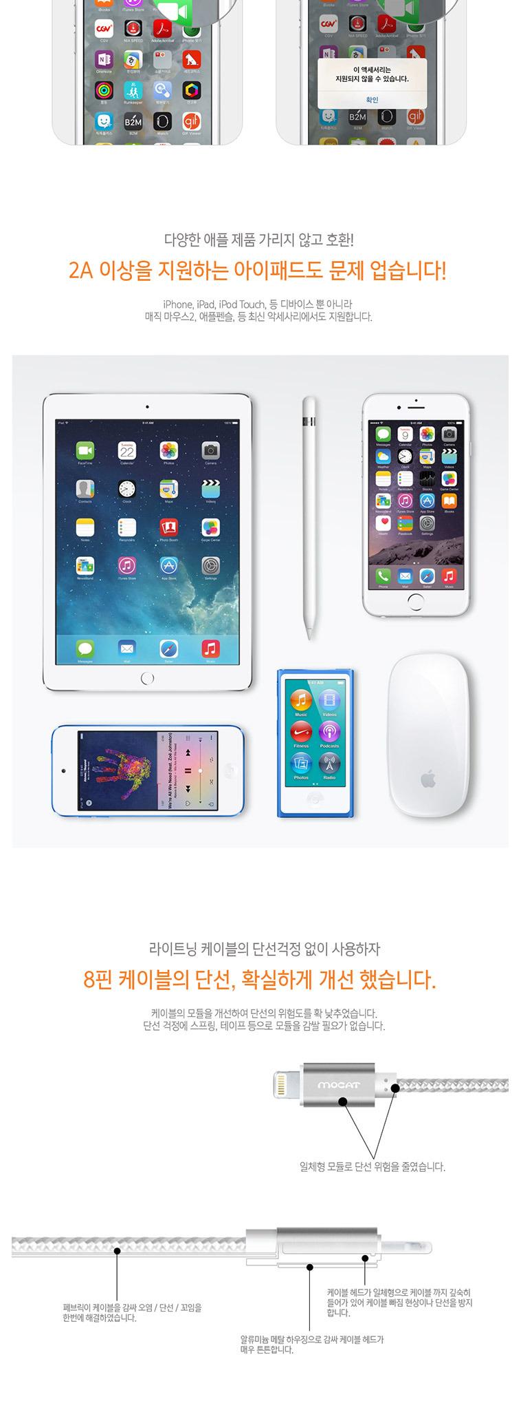 [마이폰] 핸드폰 고속 충전기 - 상세정보