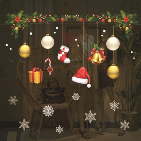 [크리스마스]윈도우스티커 모음
