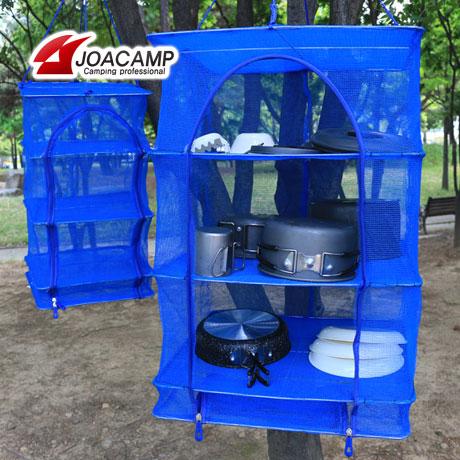 접이식 3단 식기건조망/캠핑용품