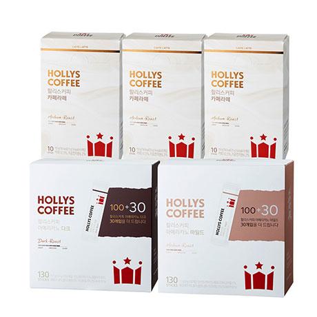할리스 커피 130T/카페라떼 60T