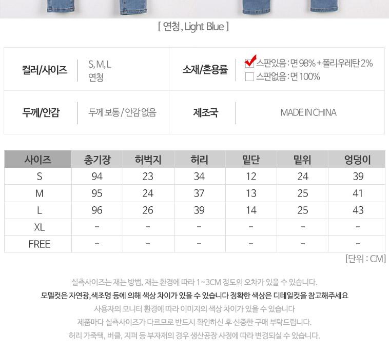 남여 핵쫀쫀 청바지 총집합 - 상세정보