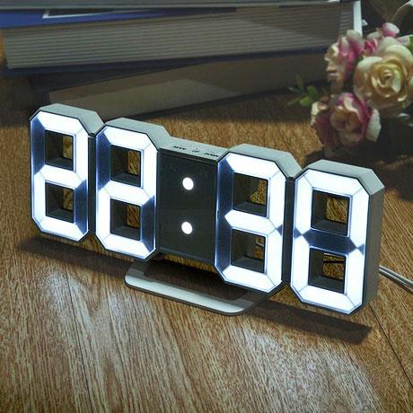 더스윗 LED벽시계/탁상시계/알람시계