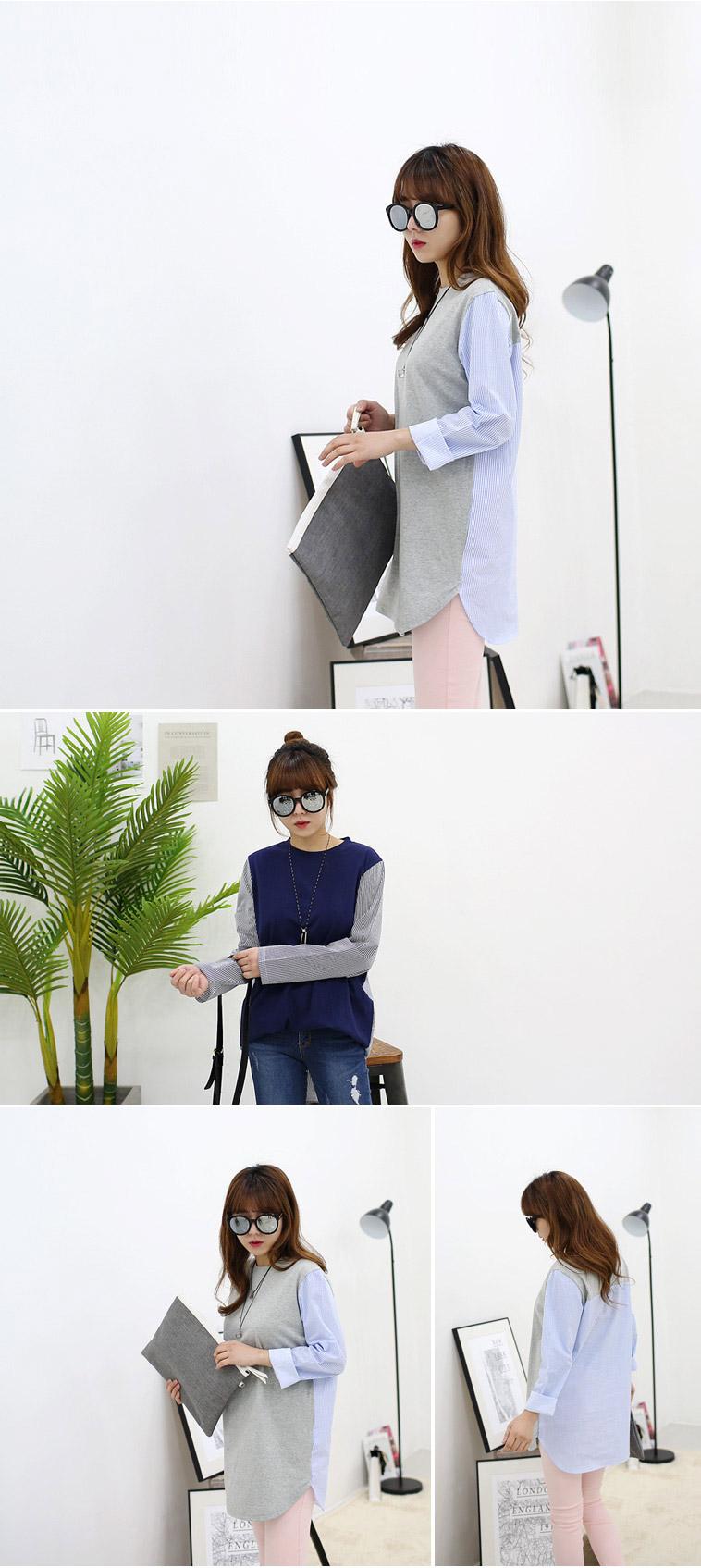 [마이사이즈] 여성 105 티셔츠 - 상세정보