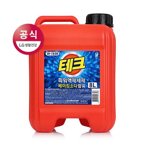 테크 액체 세제 8L
