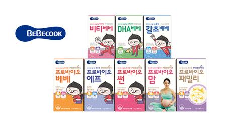 [원더배송]베베쿡 유산균 / 영양제