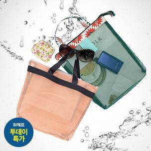 [투데이특가] 비치가방/물빠지는가방