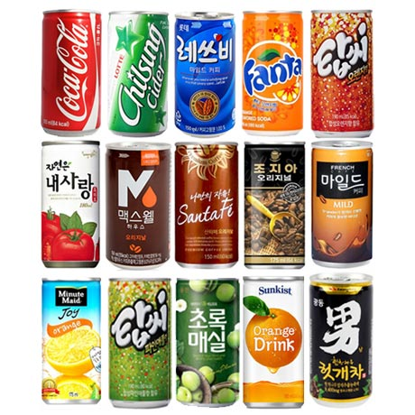 코카콜라 사이다 탄산음료 30캔 58종