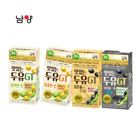 [무료배송] 맛있는두유GT 64팩 4종