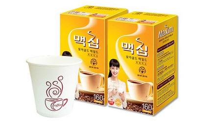 [원더배송] 맥심 커피믹스320+종이컵