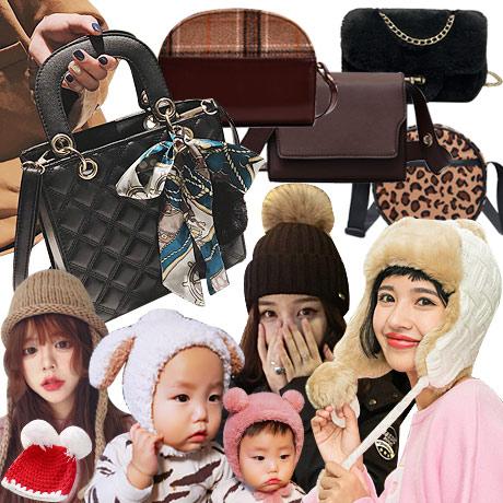 [무료배송] 여성가방/모자/머플러