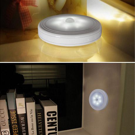 미니 자석 LED 모션 센서등/인테리어