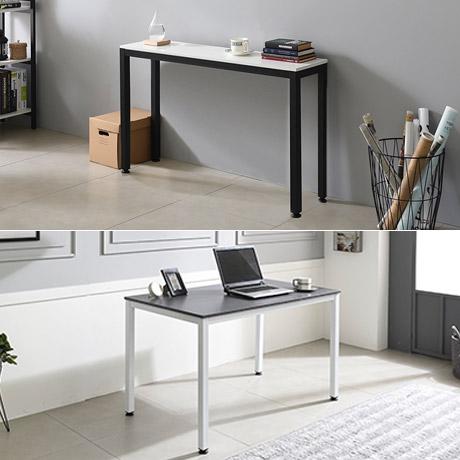 스틸 다용도 책상 테이블