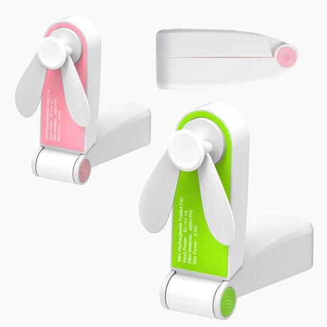 폴더형 초미니 휴대용 선풍기
