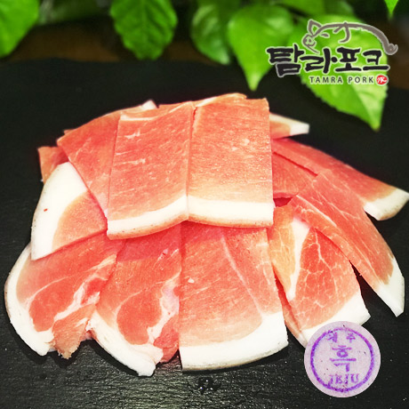 [극찬후기] 청정제주 흑돼지 1.2kg