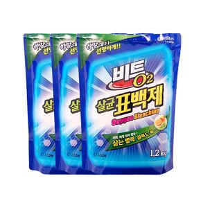[무료배송] 비트O2 표백제 1.2kgX3개