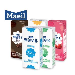 [원더배송] 매일 멸균우유 24팩