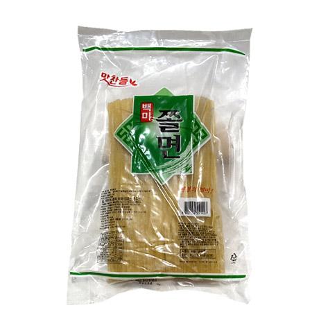 맛찬들 쫄면사리(백미/냉동) 1kg