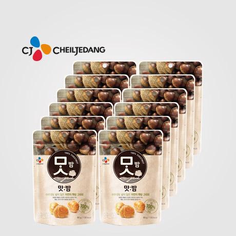 [무료배송] CJ 맛밤 80g x 12봉