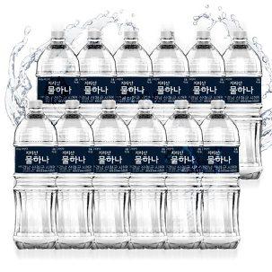 [원더배송] 지리산 생수 2L X 6펫