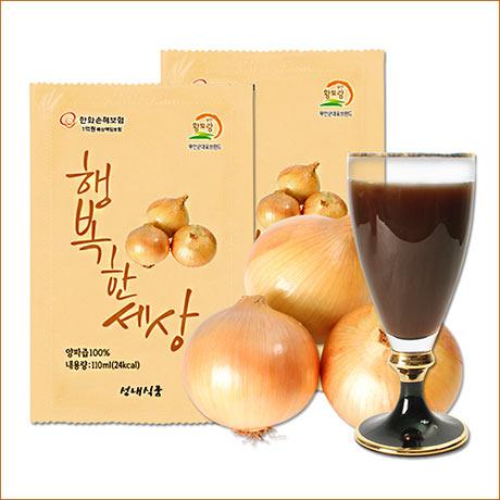 [성내식품] 양파즙 110ml X 60팩