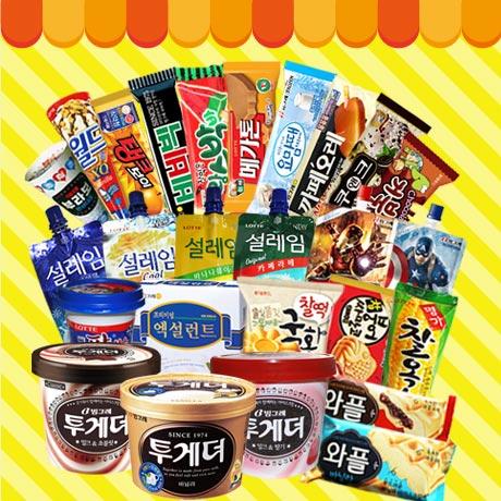 아이스크림 대용량 박스전 골라담기!