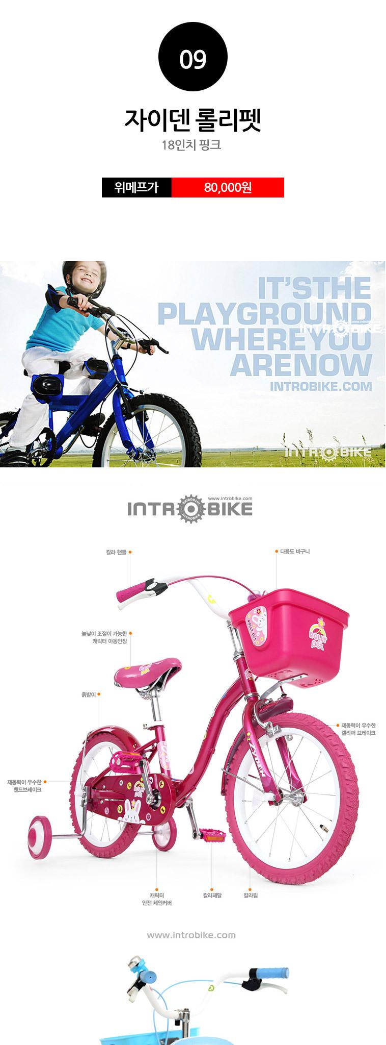 [무료배송] 알톤 어린이/아동 자전거 - 상세정보