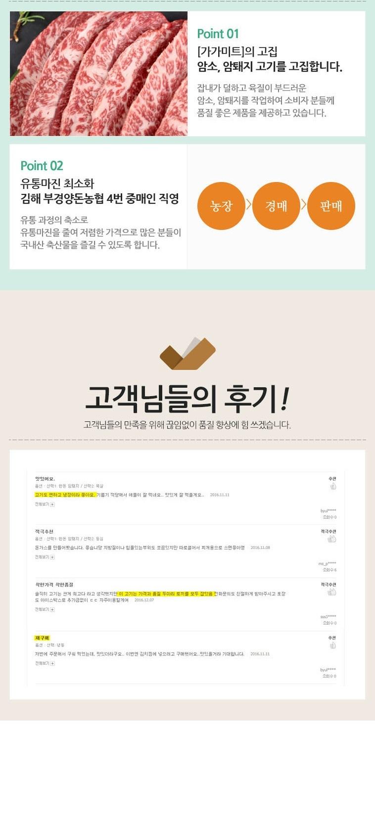[명예의전당] 한우, 한돈 골라담기 - 상세정보