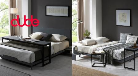 듀드퍼니쳐 스칸딕 50T 통깔판 침대!