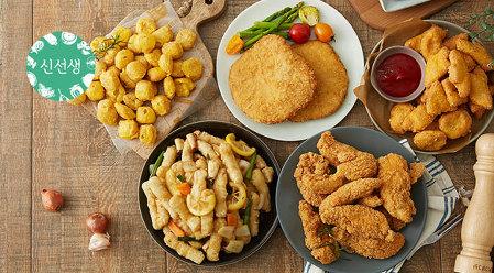 [신선생] 사조 치킨너겟 1kg+1kg
