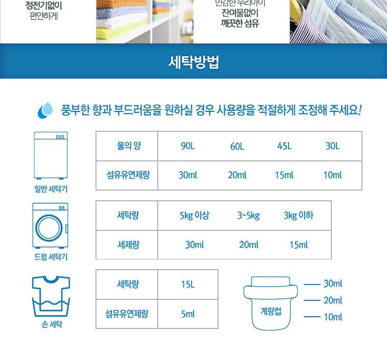 아토엔비 세제 유연제 3L - 상세정보