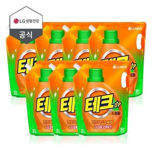[원더배송] 테크 세탁 세제 X 6