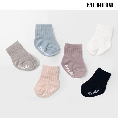 메르베 사계절 신생아 유아/아기양말