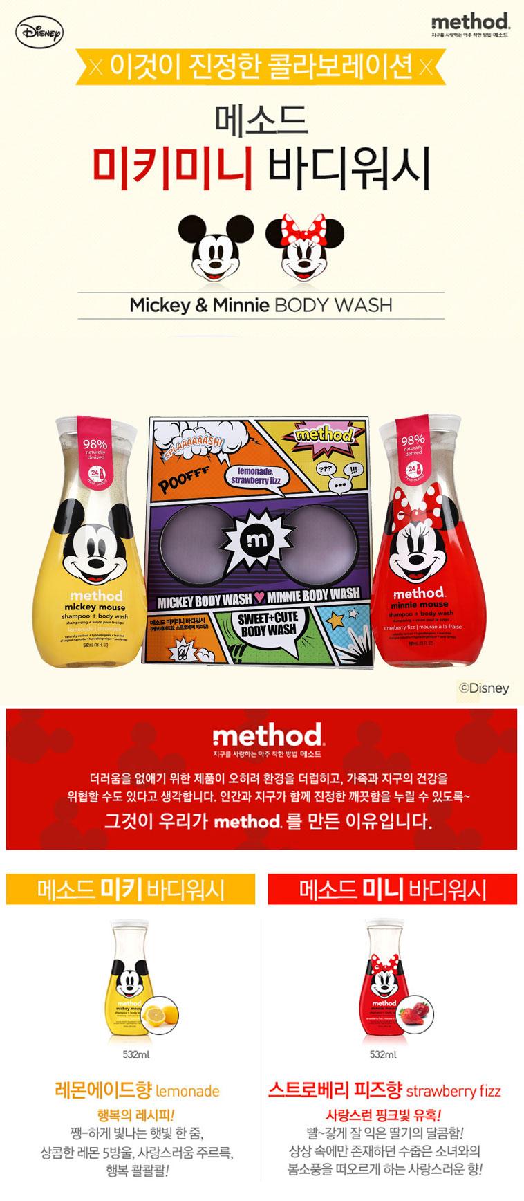 [스타쿠폰] 메소드 선물세트 2종 - 상세정보