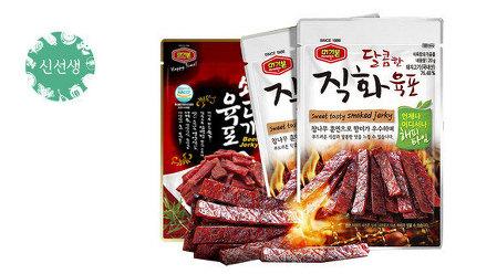 [원더배송] 머거본 달콤직화육포 5봉